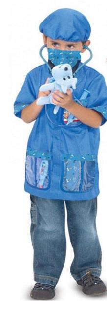 Animal doctor costume