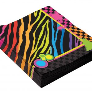 80's theme napkins