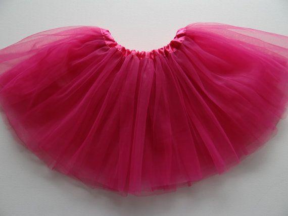 Pink tutu skuirt