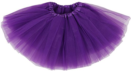 purple tutu skirt - child