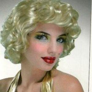 Blonde starlet curly wig