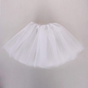 white tutu skirt child