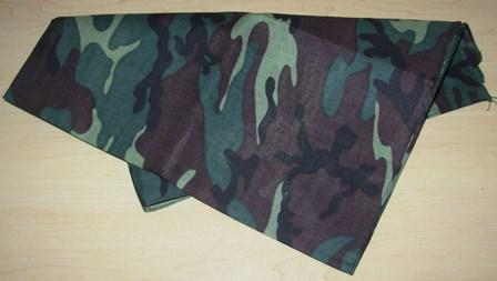 Camoflauge bandanna