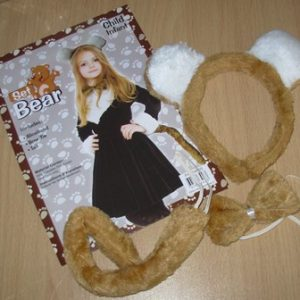 Bear dress up kit