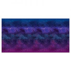 Outer space galaxy decor
