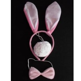 Pink rabbit set