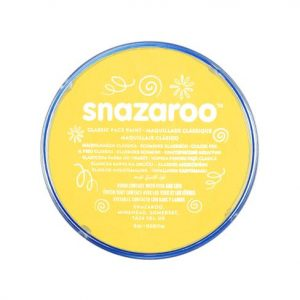 Snazaroo face paint bright yellow