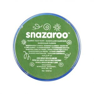 Snazaroo face paint grass green