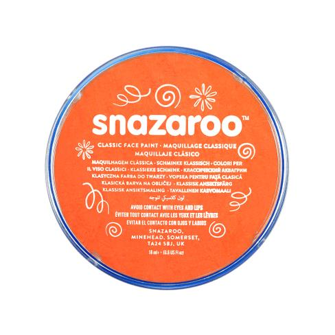 Snazaroo face paint orange