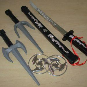 Ninja weapon set