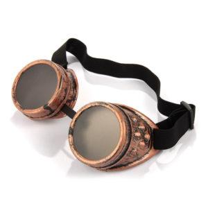 Steampunk goggles bronze
