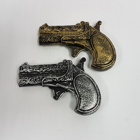 Two small pistols