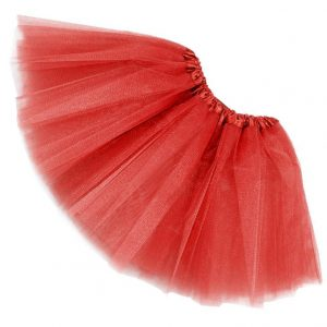 Tutu net skirt - red