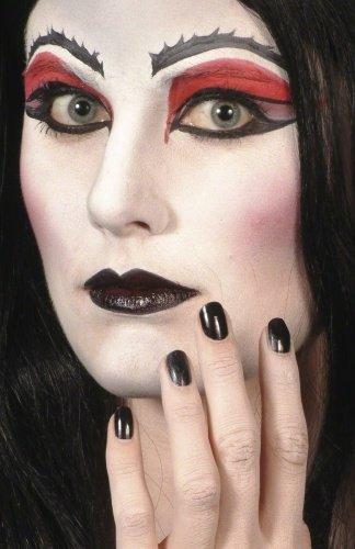 Black lipstick & nailpolish