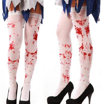 Blood spattered thigh highs
