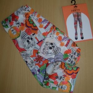Day of the dead thigh highs