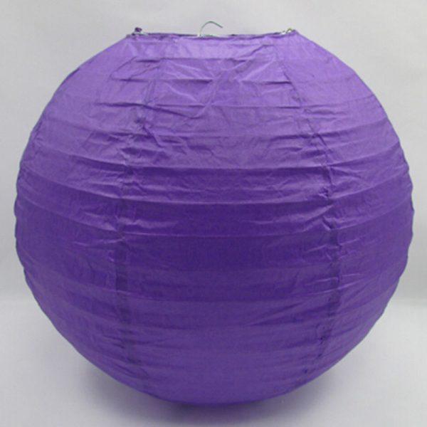 Purple paper lantern 30cm
