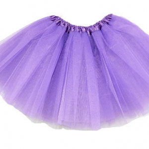 Purple tutu net skirt