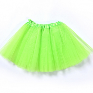 Tutu net skirt green