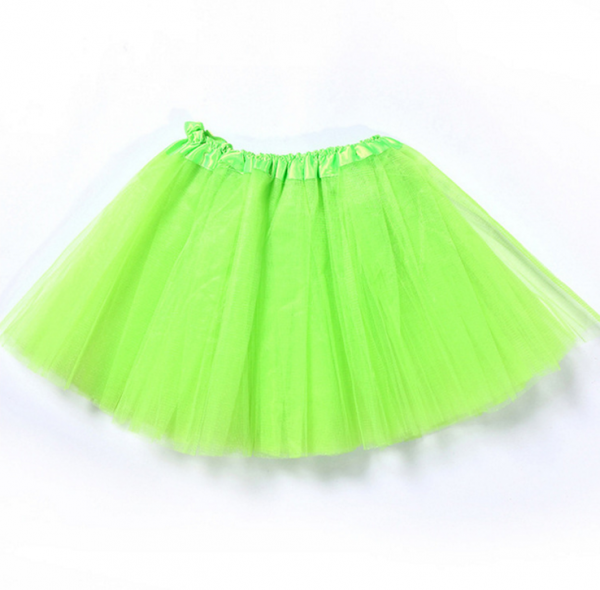 Tutu net skirt green