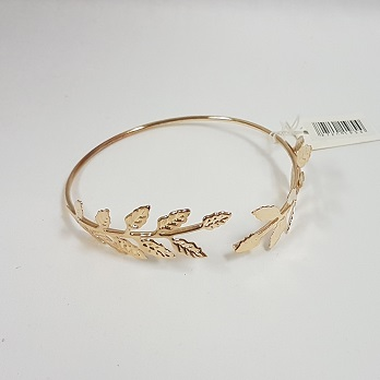 Gold leaf bangle