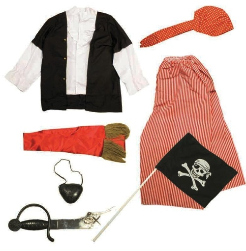 Pirate dress up – Code: 109 – Scalliwags Costume Hire