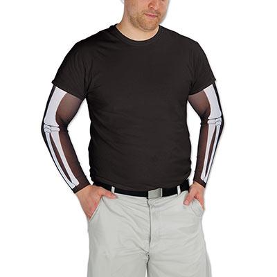 Skeleton party sleeves