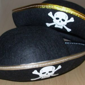 Felt childs pirate hat