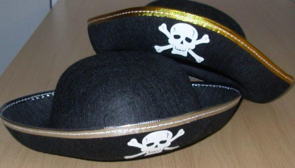 Felt childs pirate hat