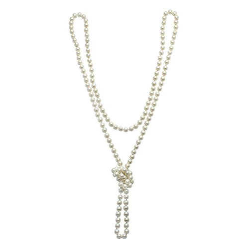 Long 1920's pearl necklace