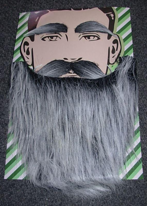 Grey beard set