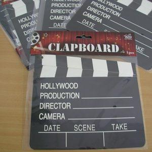 Clapboard cutout