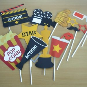 Movie themed photo accessories