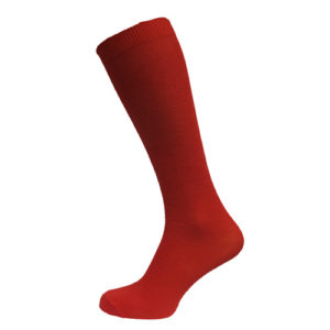 Long red socks