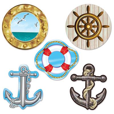 Mini nautical cutouts