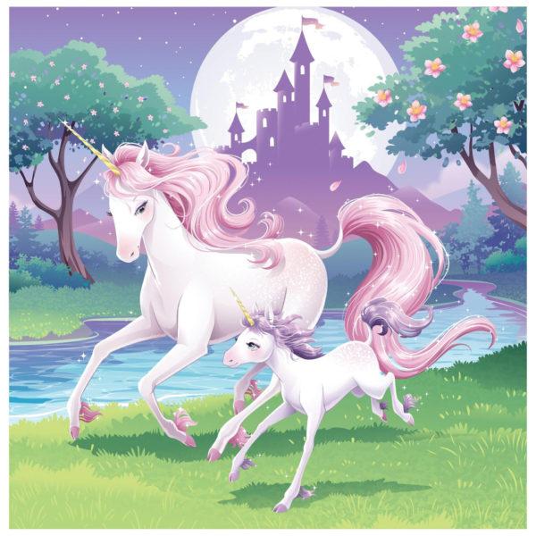 Unicorn themed decor