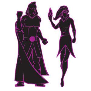 Villain silhouettes