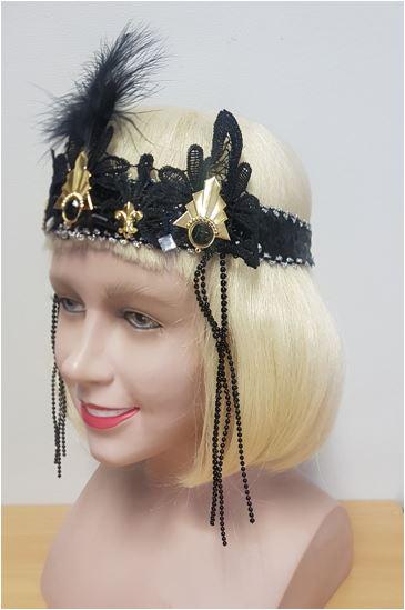 Flapper headdress