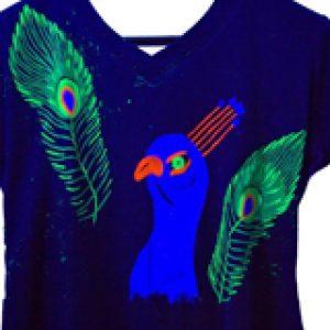 UV fabric paints