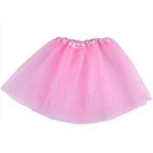 Pink tutu net skirt