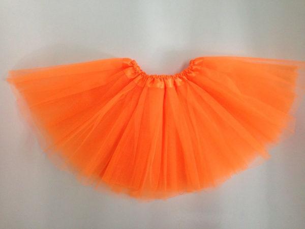Orange net tutu