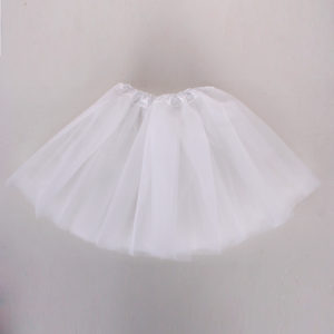 White net tutu skirt