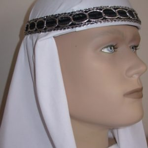 Arabian hat side view