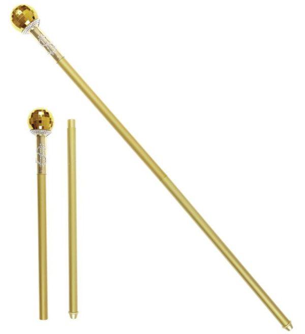 Gold pimp cane