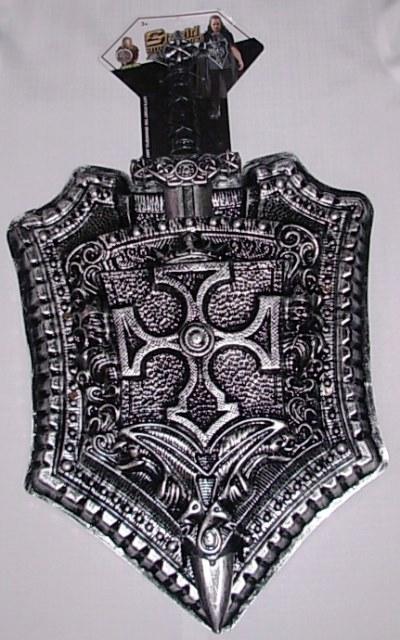Medieval sword & shield
