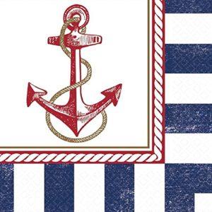 Naval themed napkins