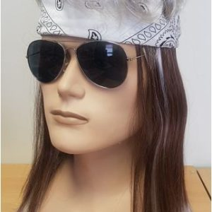 Two tone mullet wig