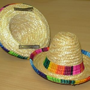 Mini clip on sombrero