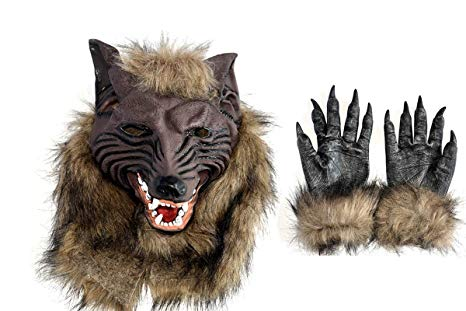 Wolf mask & claws