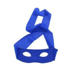 Blue hero mask